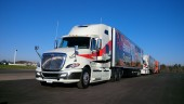 We drove this International ProStar with 2017 ISX15 engine and SmartAdvantage powertrain.