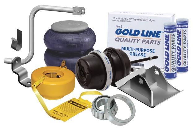 Gold Line Parts Collage