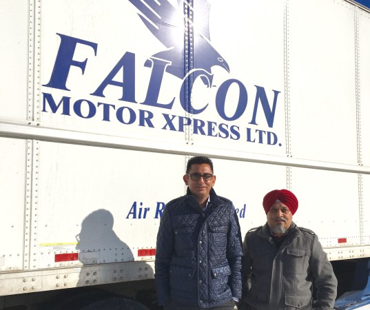 Owners Andy  Grewal  (left) and Jarnail  Sidhu