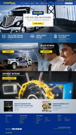 Goodyear-commercial-web-site-landing-page