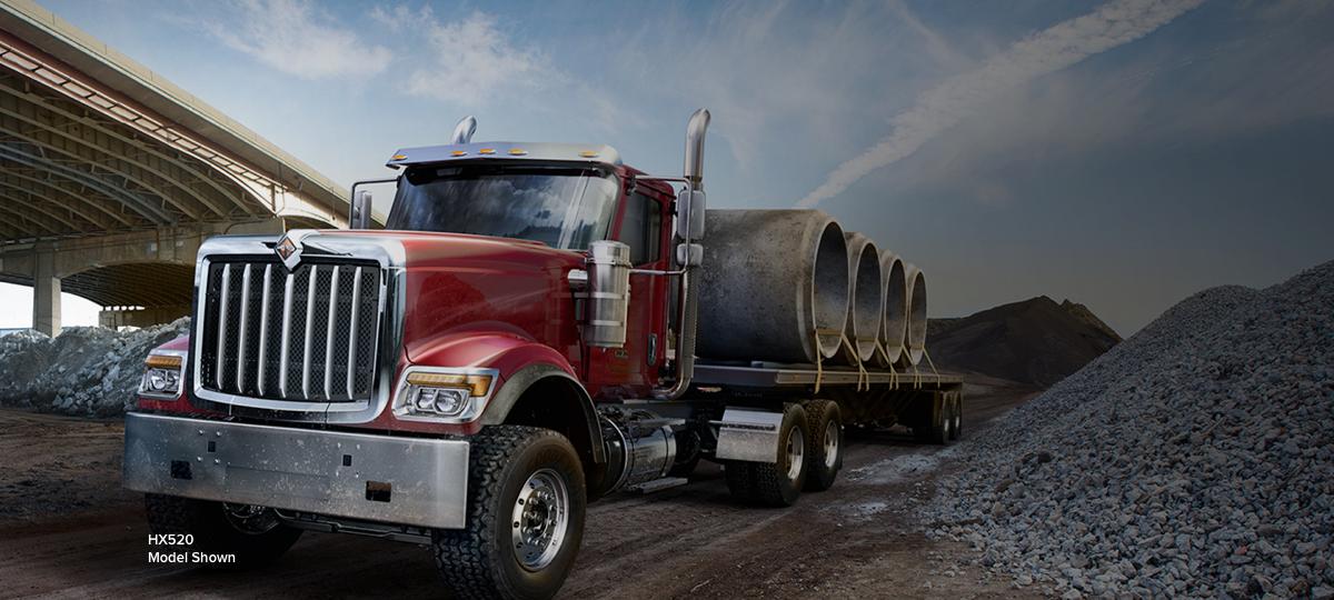 International Debuts New Hx Series Vocational Trucks