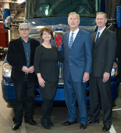 Kenworth Chillicothe plant 500,000th truck ceremony.