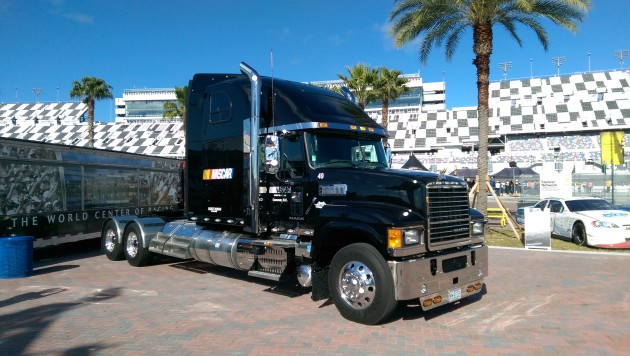 Mack Trucks is now the official hauler of NASCAR.