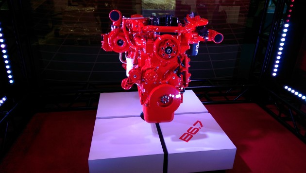 Cummins Inc's new B6.7 engine.