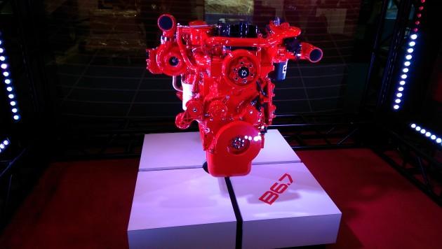 Cummins Inc's new B6.7 engine.