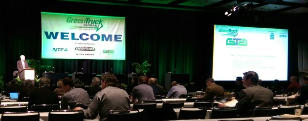 Green Truck Summit in Indianapolis, Ind.