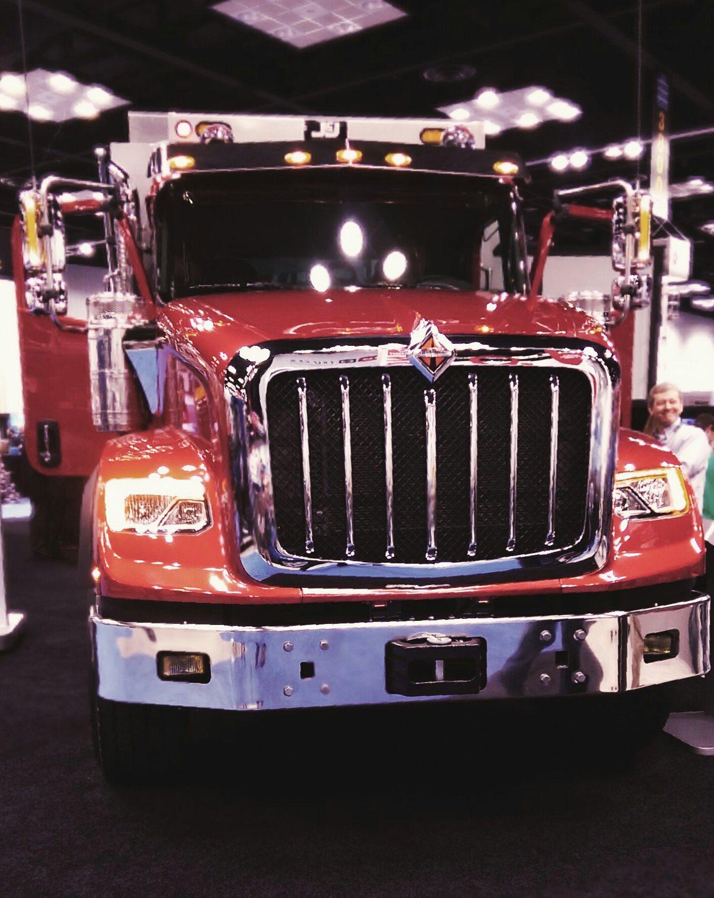 hx series headlines international truck announcements at work truck show