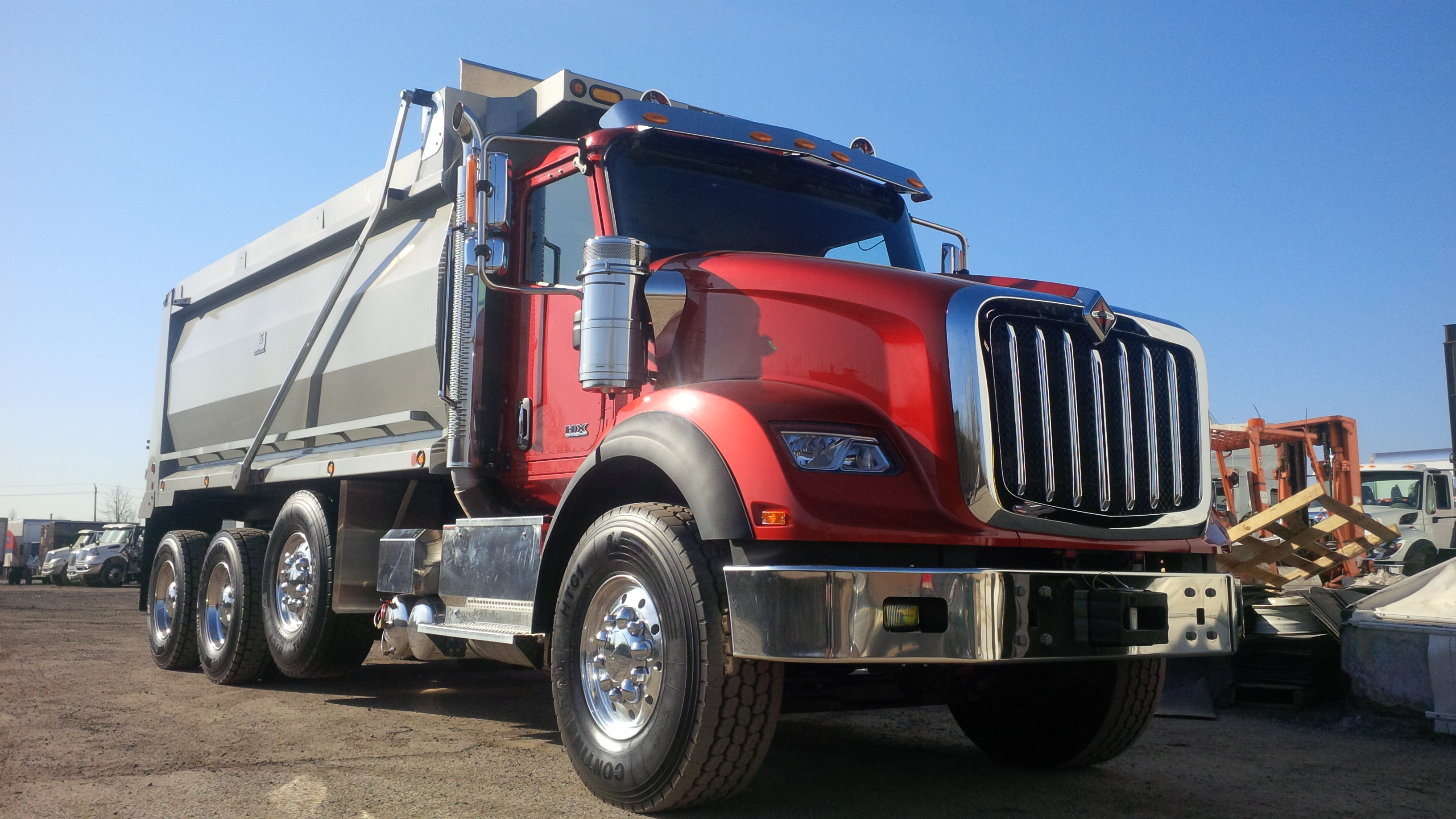 Driving the international hx620 truck news for International collection