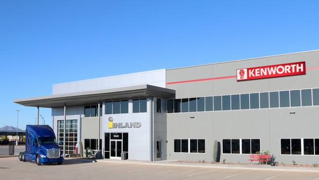 Inland Kenworth Phoenix dealership.