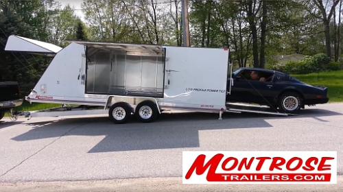 Easy and safe to load (PRNewsFoto/Montrose Trailers)