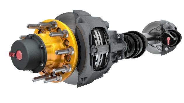 The SAF P89 air disc brake