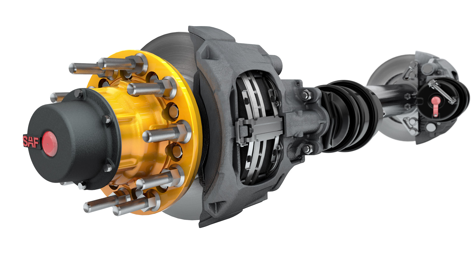 Saf Holland Introduces Lower Cost Air Disc Brake For Trailers Brakes Drum Truck News