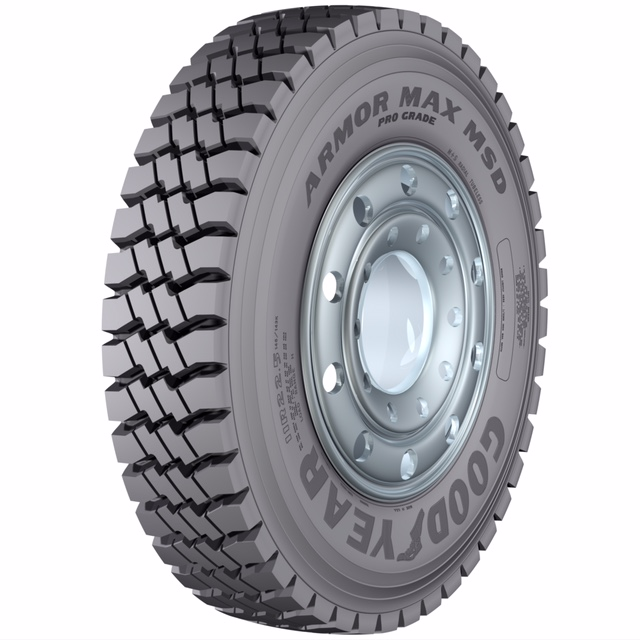 Goodyear Unveils New Tire For Mixed Service Applications