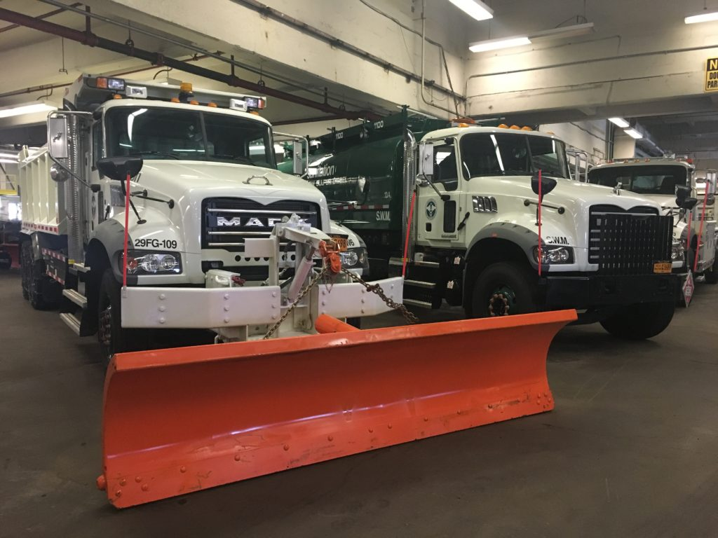 Mack is DSNY's main HD truck provider.
