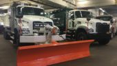 Mack is DSNY's main HD truck provider.