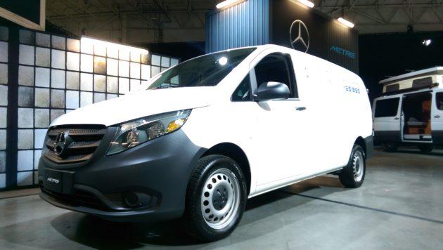 The new Metris Worker van.