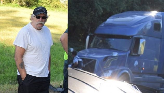 RCMP released these pictures of Earl and his truck.