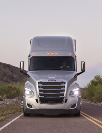 The new Freightliner Cascadia