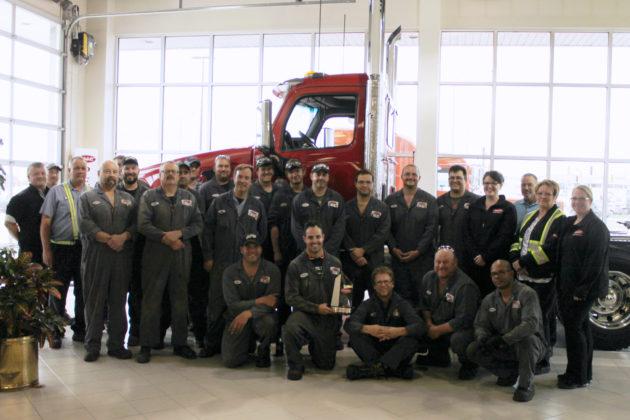 Peterbilt Manitoba service team.