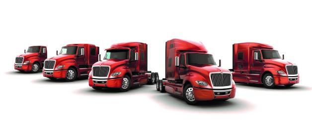 International Truck's LT Series family of trucks.