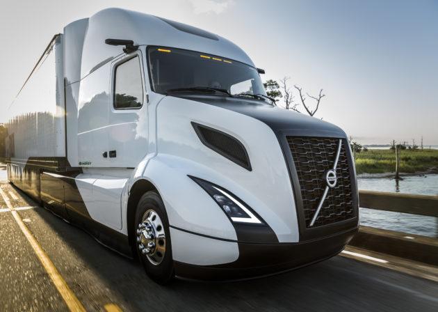 Volvo's new SuperTruck.