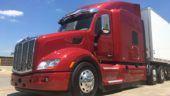 This Peterbilt 579 EPIQ was one of the first trucks with the new Paccar axle and 2017 MX-13 engine.
