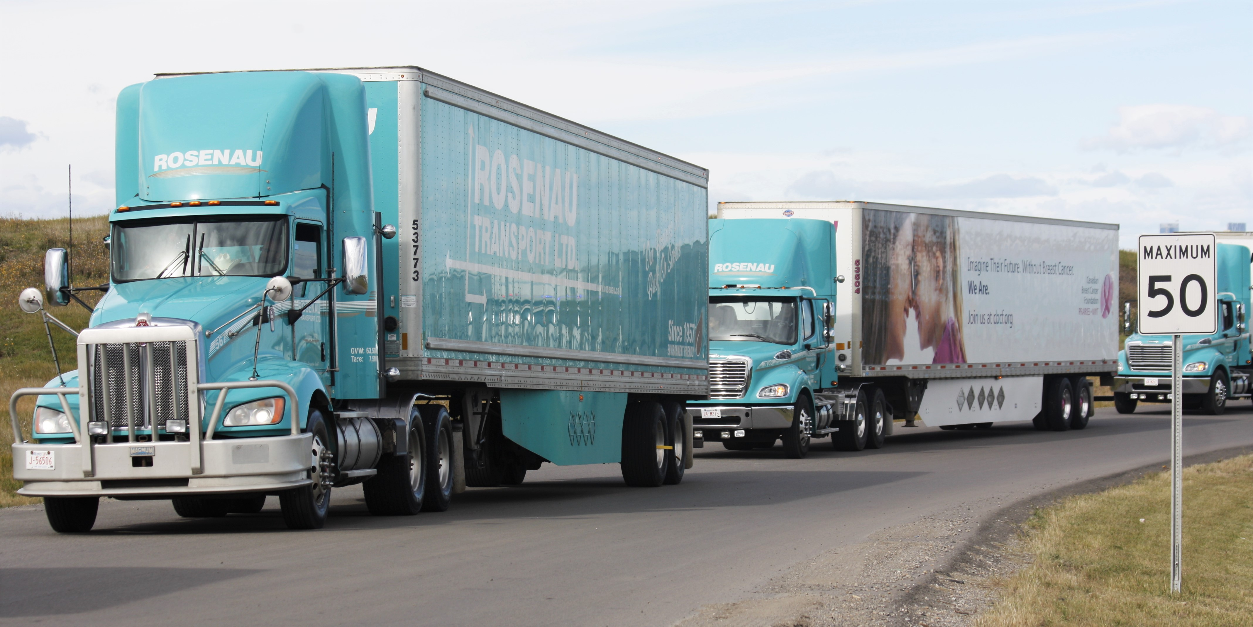 Alberta drivers recognized for essential service during national trucking week