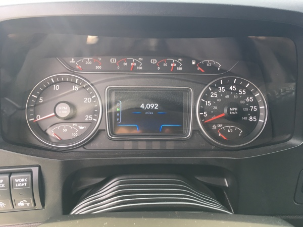 A more vibrant driver display is found on the LT. Virtual gauges are displayed there.