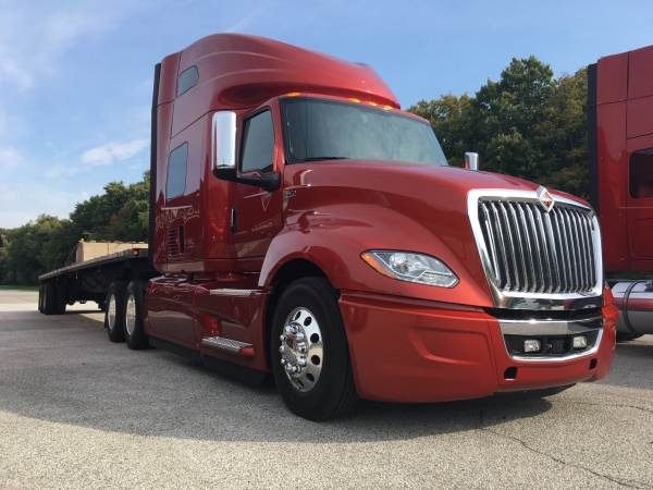 Driving the International LT - Truck News