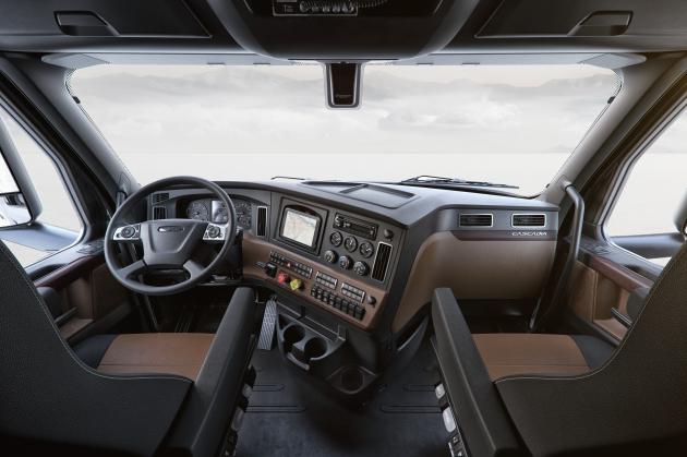 New Cascadia interior
