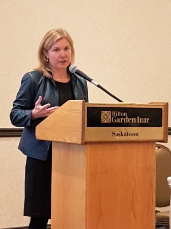 Angela Splinter, CEO of Trucking HR Canada.
