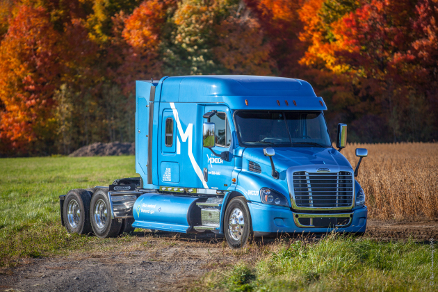 Express Mondor is updating the look of its fleet and adding 50 CNG trucks.
