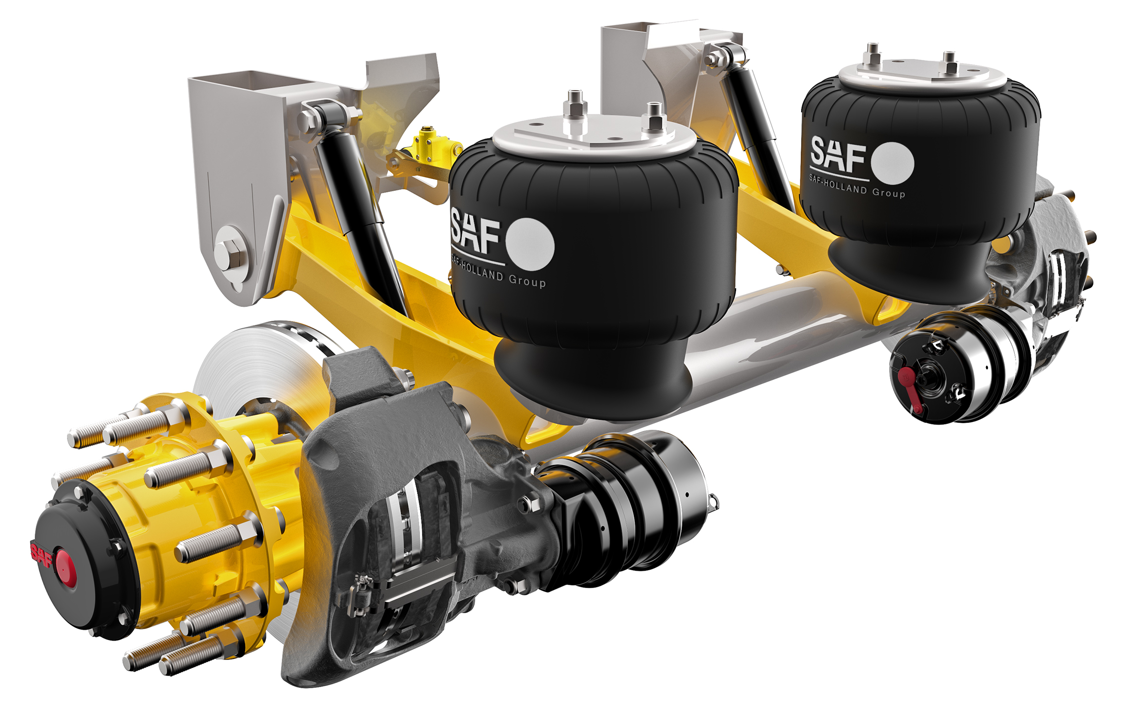 Fifth Wheel Air Ride Suspension : Saf holland introduces new suspension shunt truck fifth