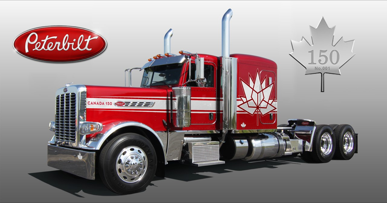 Peterbilt Unveils Special Canadian Anniversary Edition Of