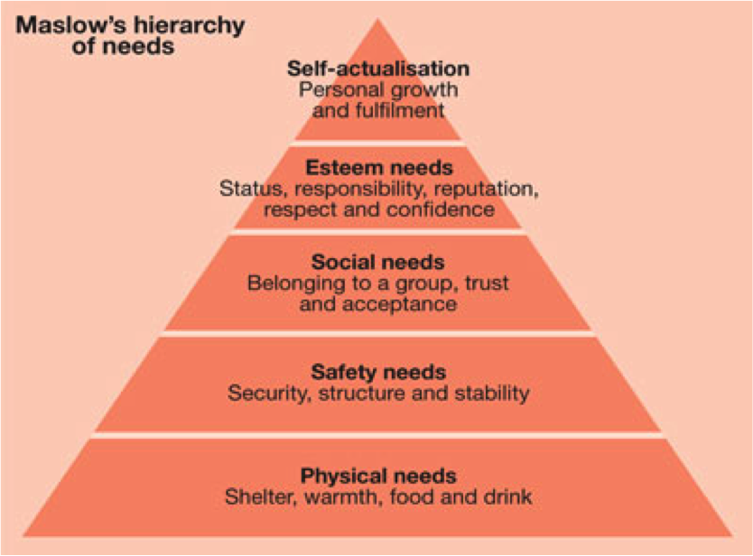 examine the relationship of biological factors to maslow s theory of personality Use maslow's hierarchy of needs to discuss the extent to which growth needs influence personality formation describe biological factors that influence the formation of.
