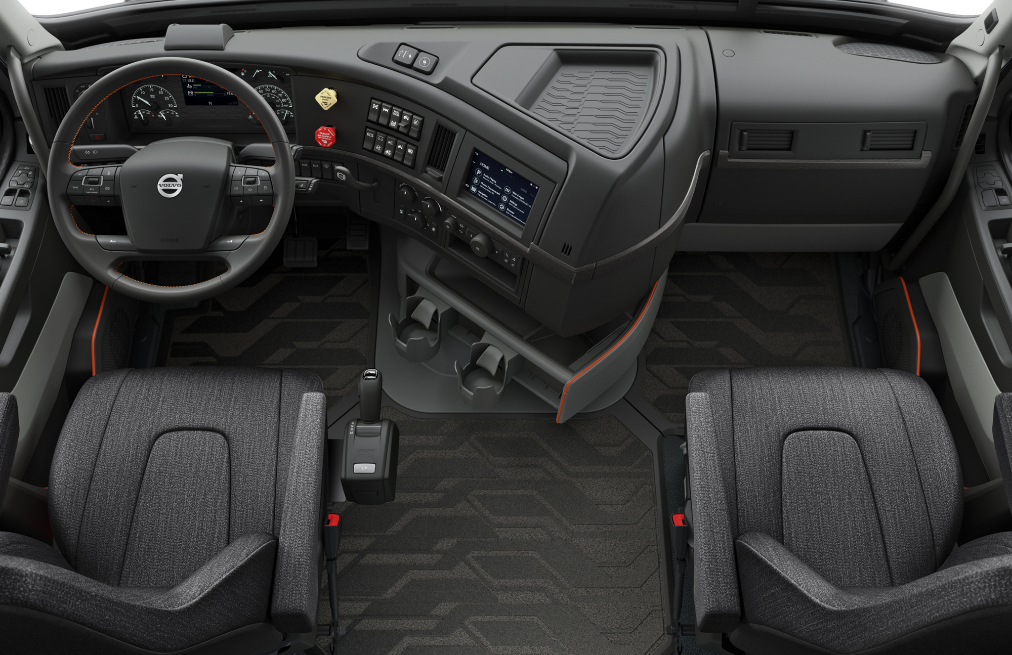 2018 volvo 670 interior.  2018 in a nod to its european heritage volvo has brought the globetrotter  moniker north american market the distinction means truck  intended 2018 volvo 670 interior
