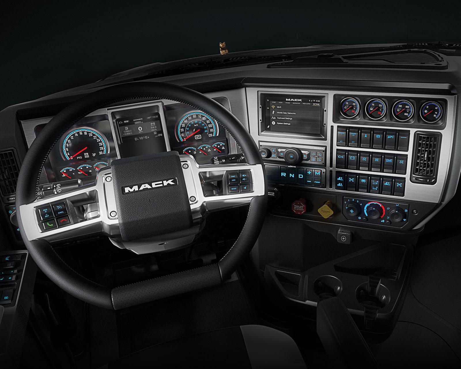 Mack Pinnacle, Granite models get an update - Truck News