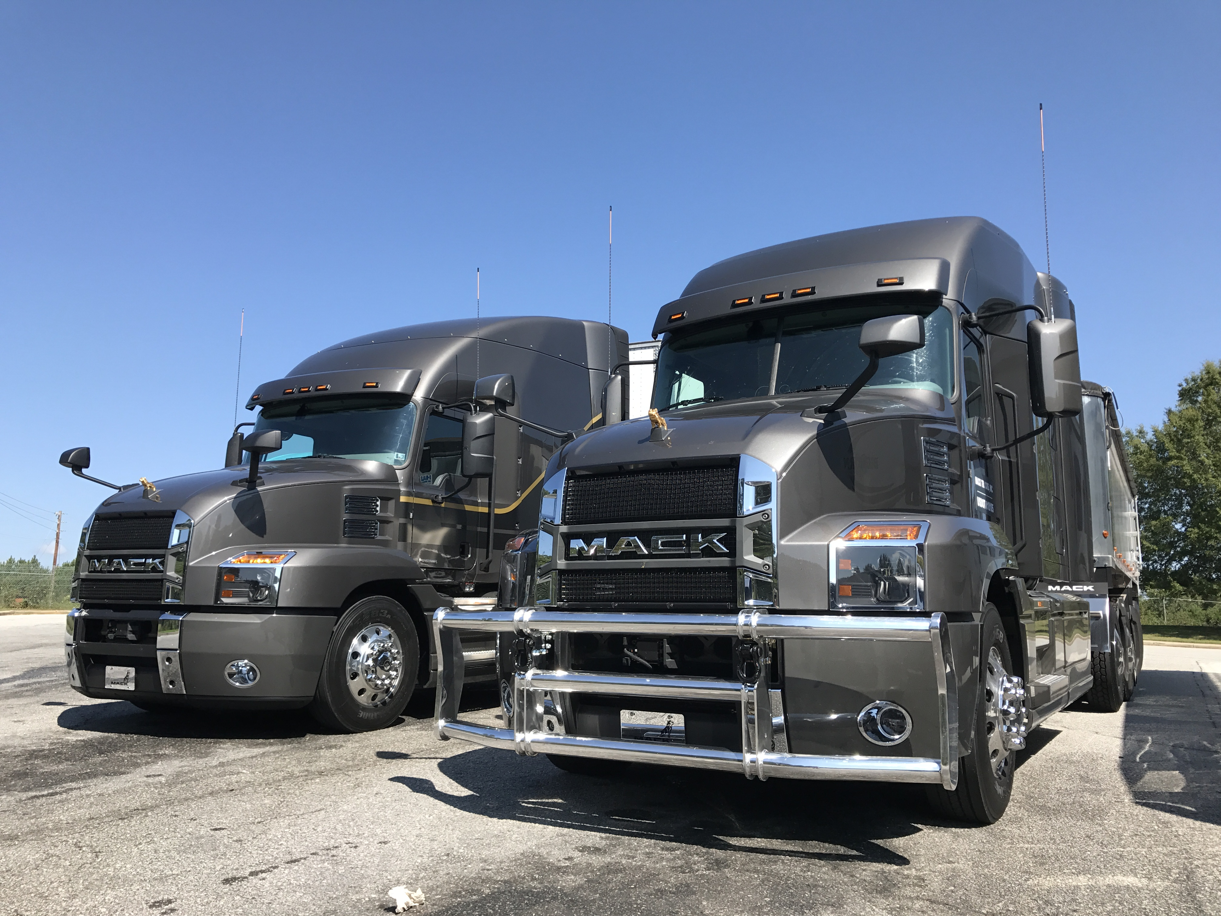 Driving The New Mack Anthem Truck News