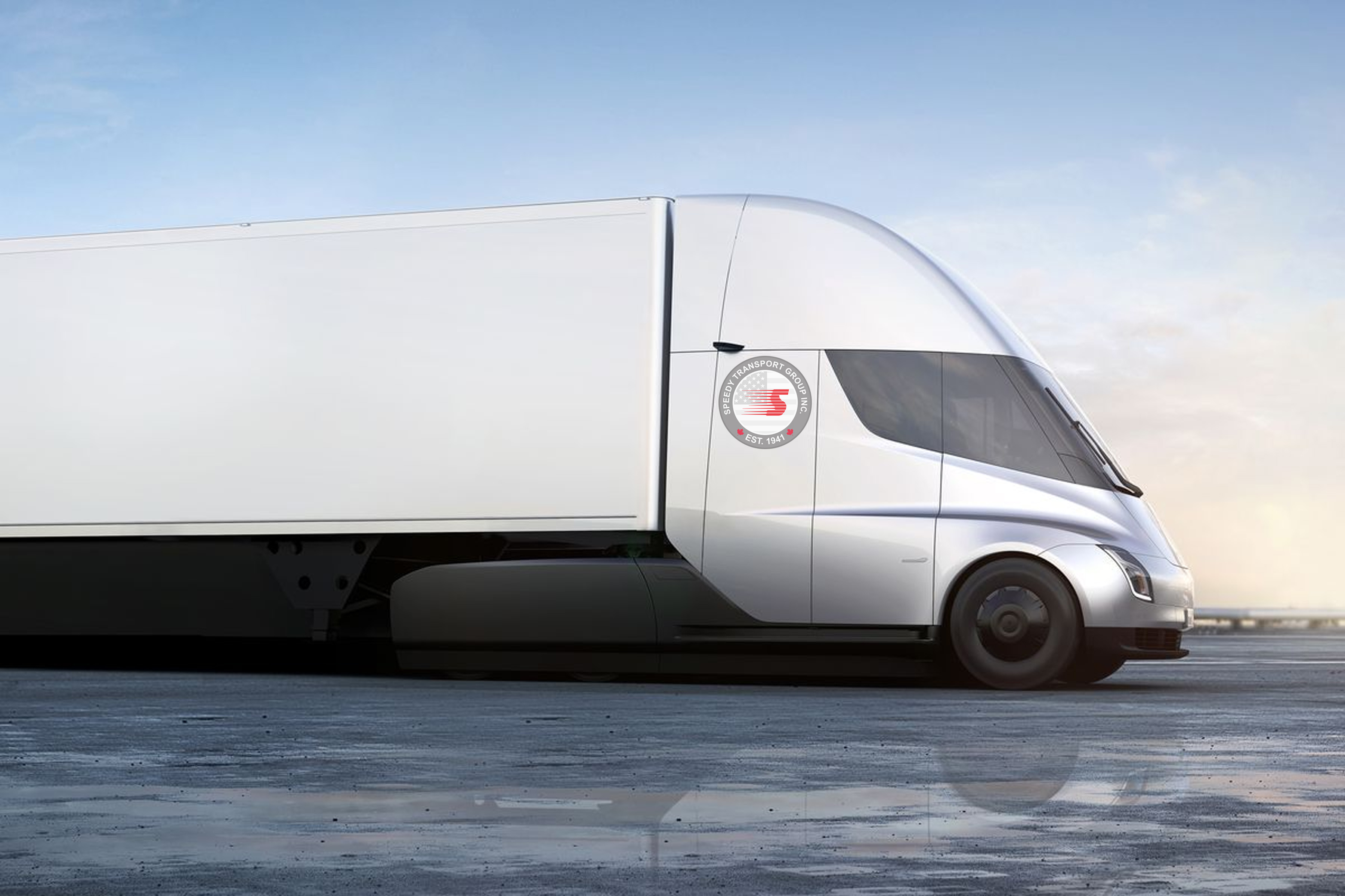 More Canadian Fleets Order Tesla Semis Truck News Freight Fuel Pump Speedy Transport Is Among The First To Trucks