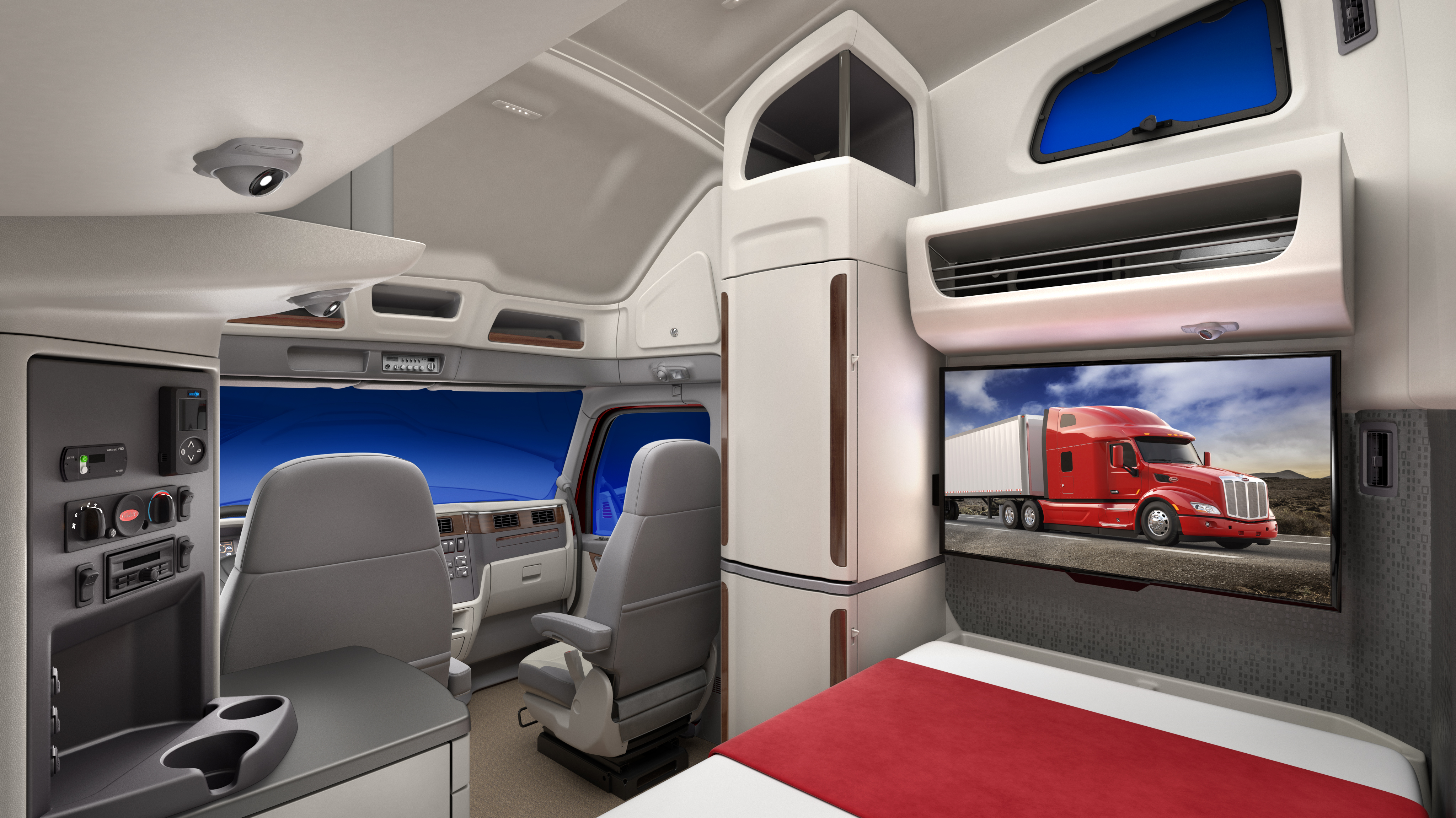 Peterbilt Unveils Driver Inspired Ultraloft Sleeper