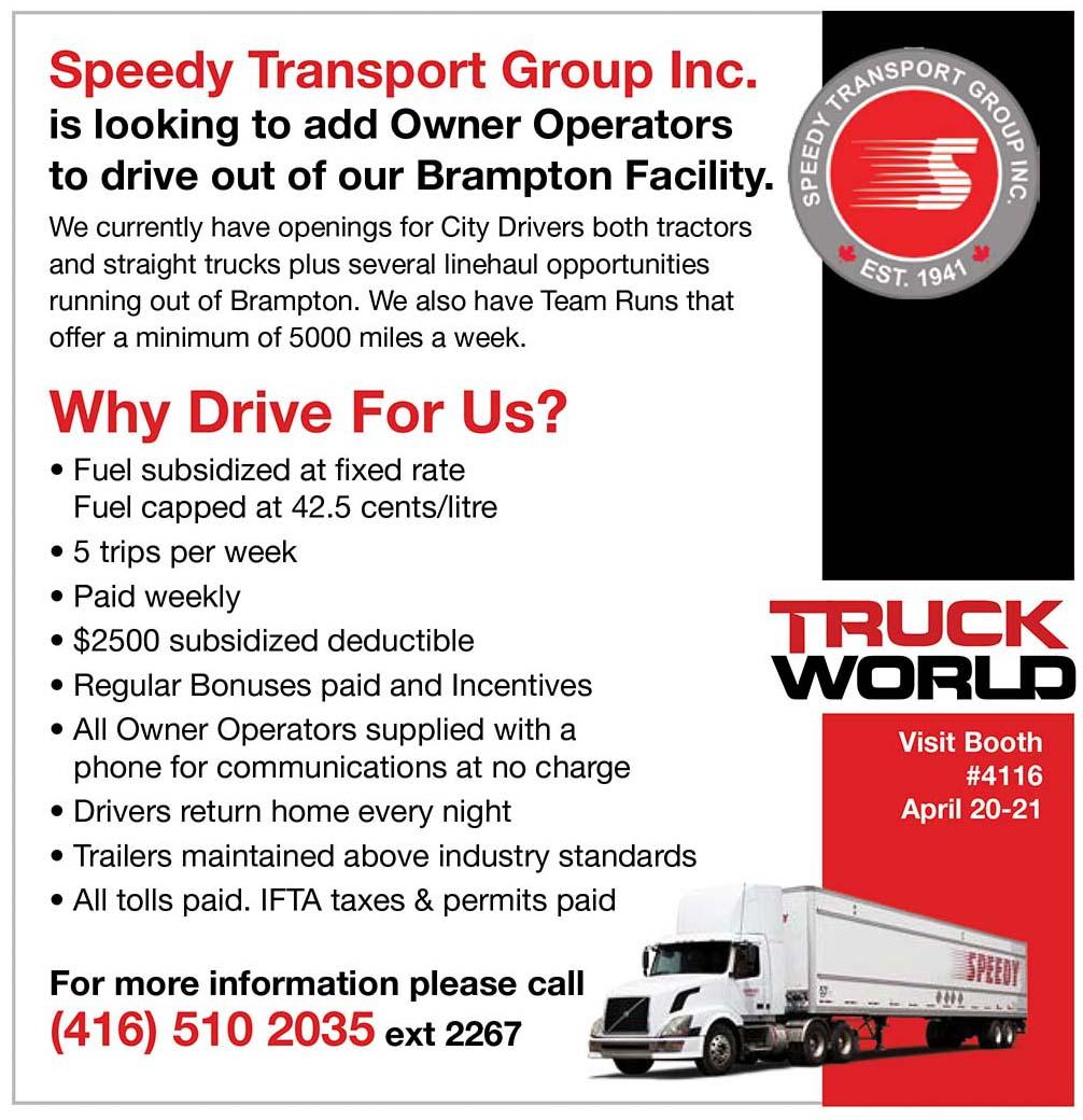 Speedy Transport