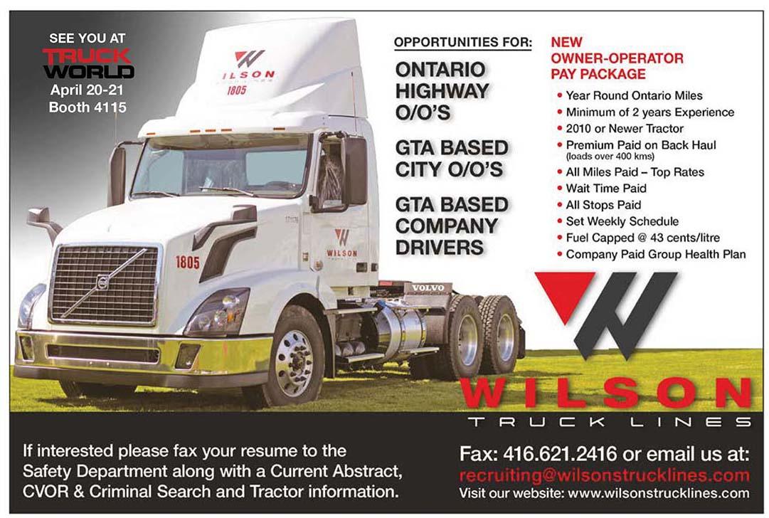 Wilson Truck Lines