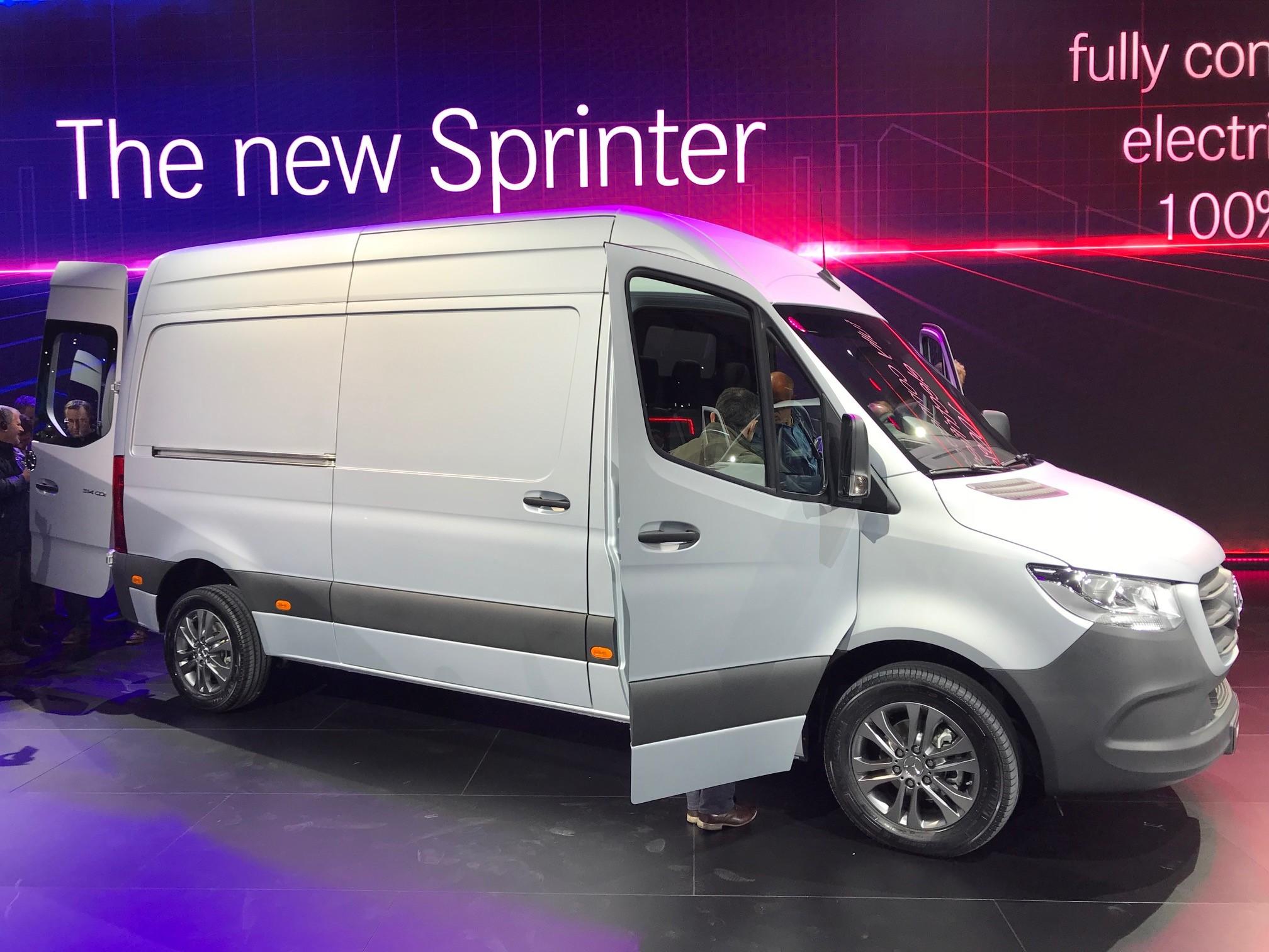 3f5cbddc1d Mercedes-Benz reveals new Sprinter - Truck News