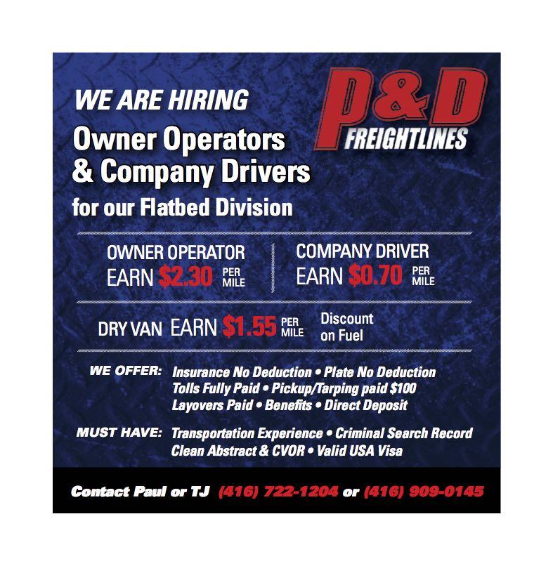 P&D Freightlines