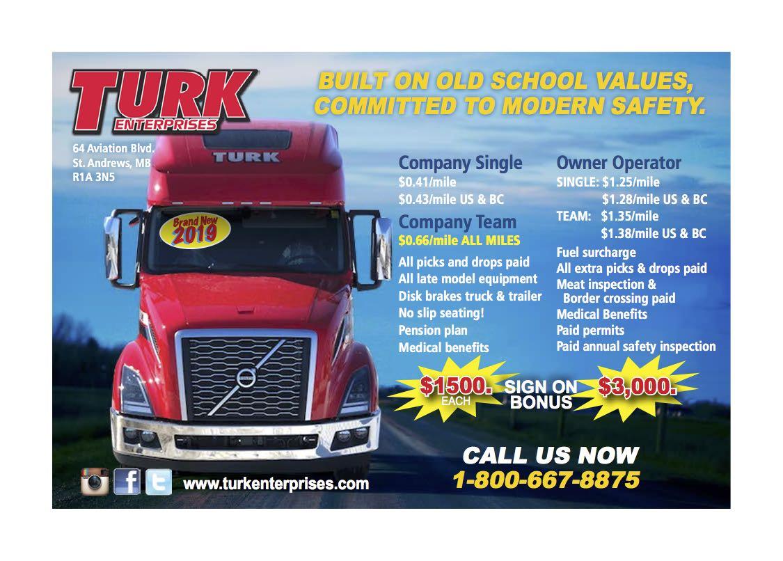 Turk Enterprises -Truck West