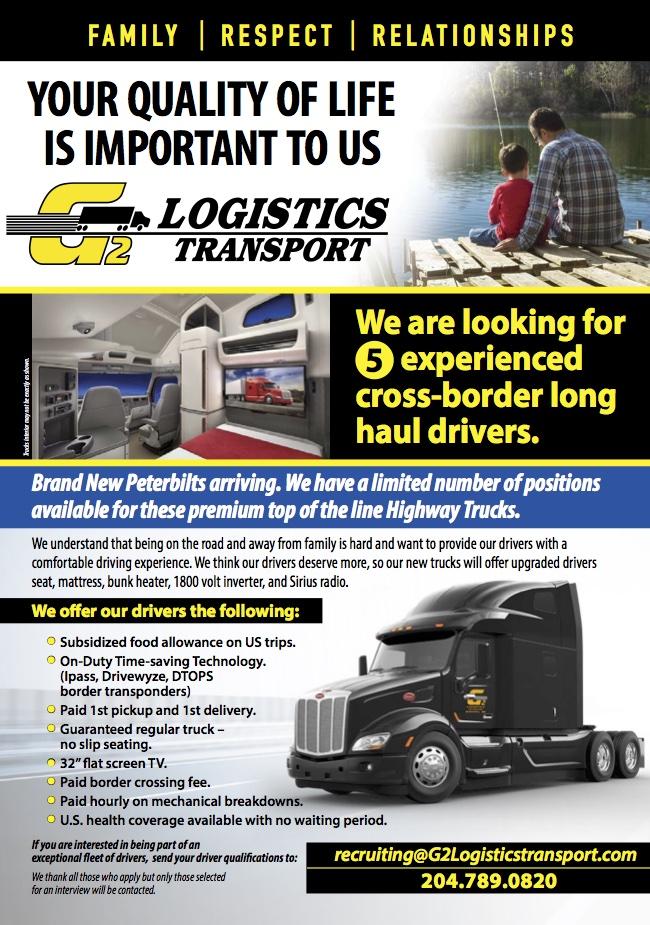 G2 Logistics – Truck West