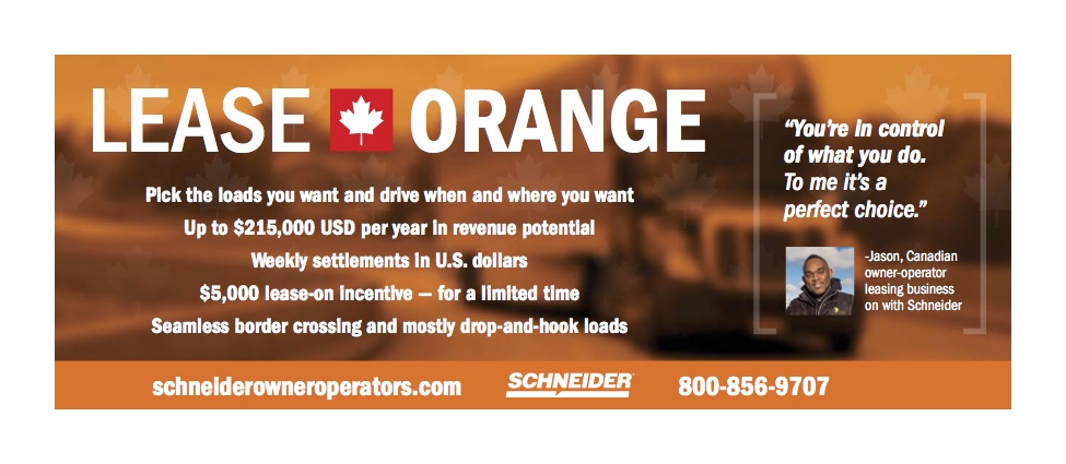 Schneider – Owner Operators