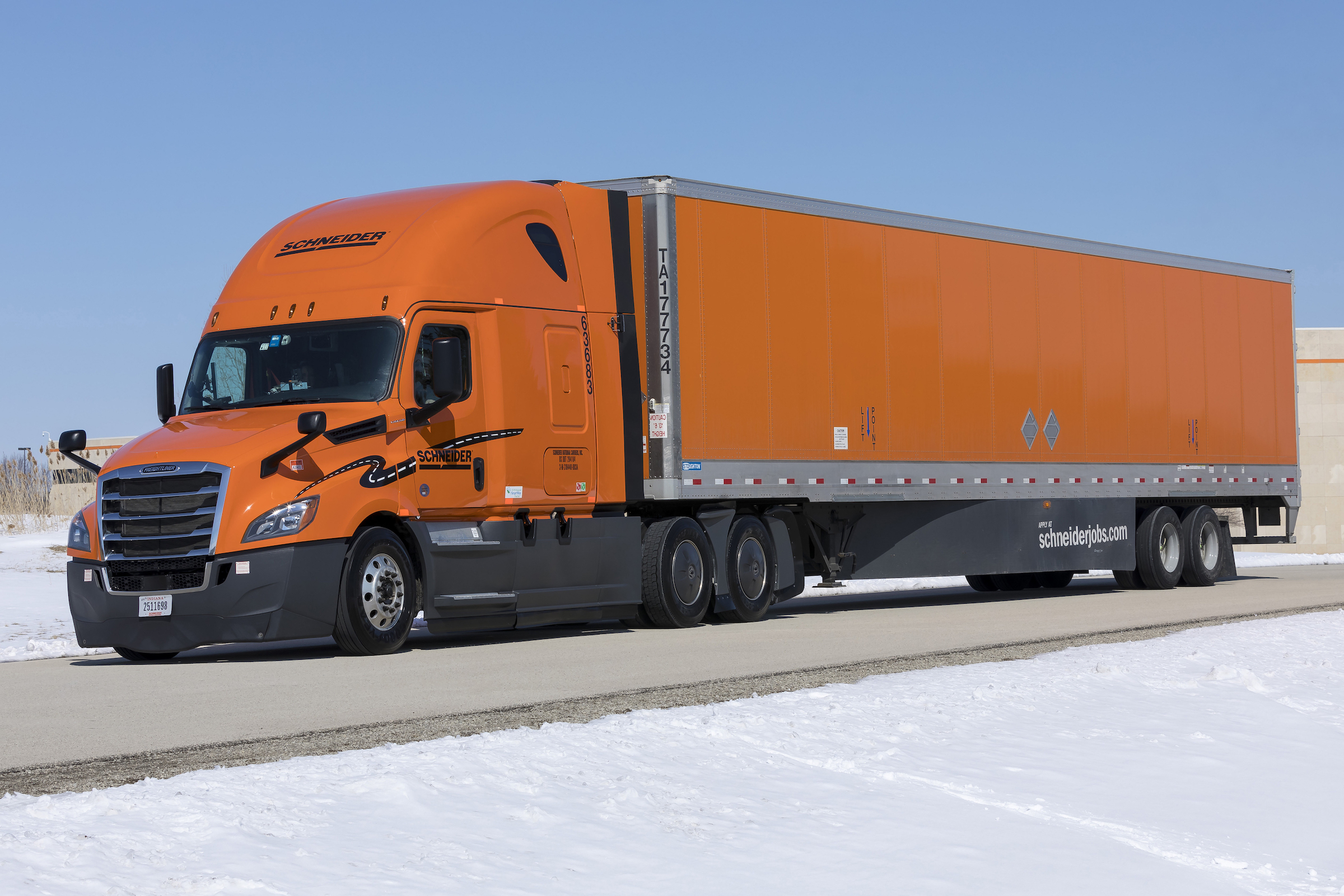 In All New Trucks The Company Says It Is Also Testing Upgraded Seats And Will Continue To Improve Its Spec Drivers Quality Of Life