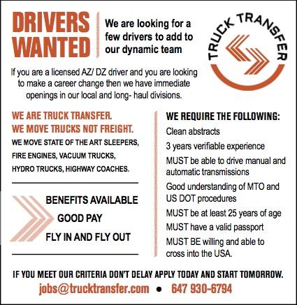 Truck Transfer