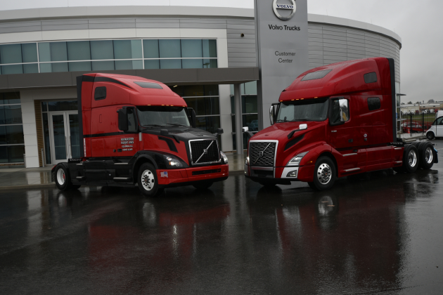 Volvo completes transition to new vnl truck news for Volvo semi truck interior accessories